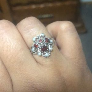 Beautiful vintage silver ring